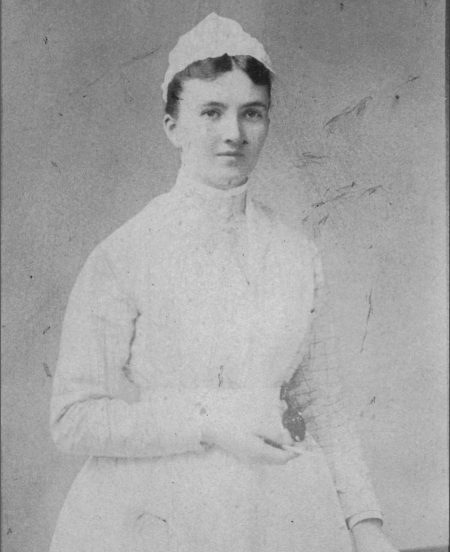 Caroline Hampton, the nurse who inspired Dr Halstead to create surgical gloves
